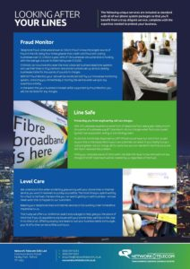 Looking After your Lines | Network Telecom