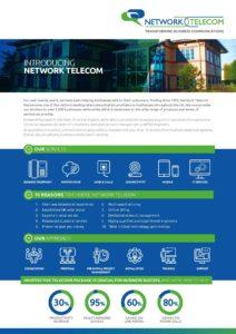 Introducing Network Telecom Data Sheet