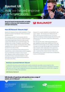 Baumot UK Case Study