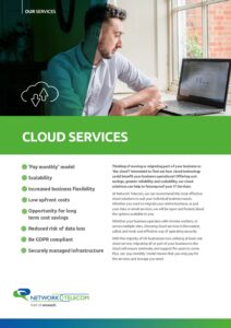 Cloud Services Data Sheet