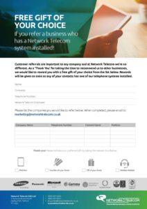 Customer Referrals Data Sheet