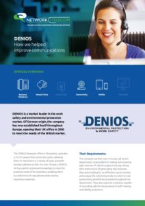 Denios Case Study