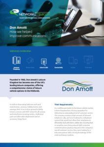 Don Amott Case Study