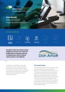 Don Amott Case Study