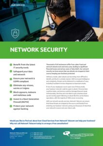 Network Security Data Sheet