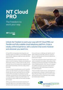 NT Cloud PRO Data Sheet
