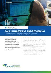 Call Management Data Sheet