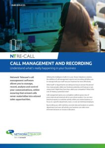Call Management Data Sheet