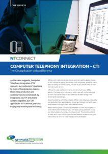 CTI Data Sheet