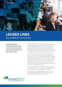 Leased line data sheet | Network Telecom