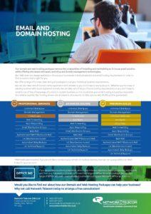 Domain Hosting Data Sheet
