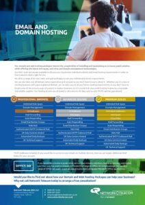 Domain Hosting Data Sheet