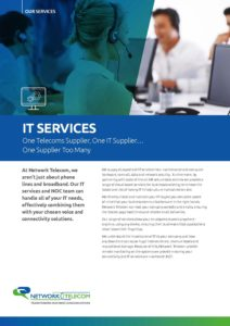 IT Services Data Sheet