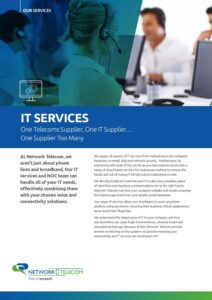 IT Services Data Sheet
