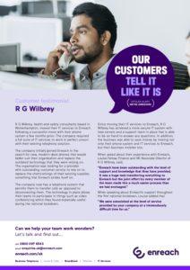 RG Wilbury Enterprise: Enreach Case Study