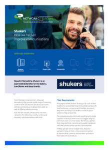 Shukers Land Rover Case Study