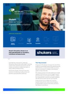 Shukers Land Rover | Network Telecom