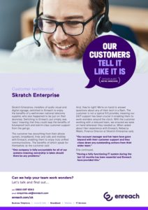 Skratch Enterprise:  Enreach Case Study