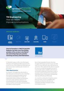 TM Engineering | Network Telecom