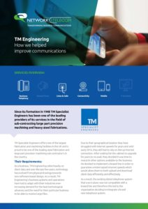 TM Engineering Case Study