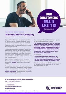 Wynyard Motor Company: Enreach Case Study
