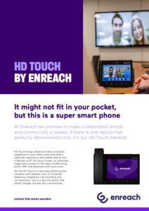 HD Touch by Enreach