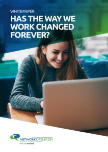 Has the way we work changed forever?